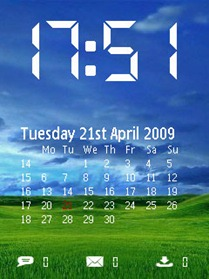 clock-screensaver-mobile