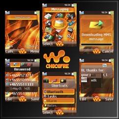 ChocoFire_Sony_Ericsson_Theme
