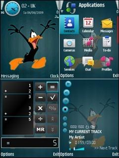 Duffy-Duck_Nokia_Theme