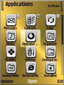 Golden_Nokia_Theme