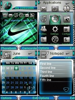 Tema Nokia N79 Wallpaper