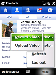 Upload Video - Facebook