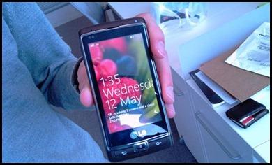 एलजी विंडोज फोन 7