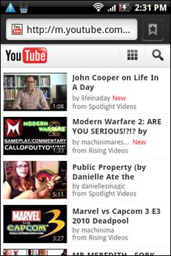 mobile_Youtube