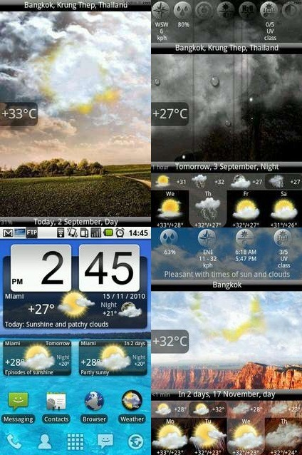 Виджет Погоды Для Андроид