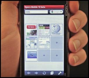 Opera Mobile 11.1 Symbian