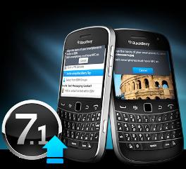 Collegare applicazioni BlackBerry