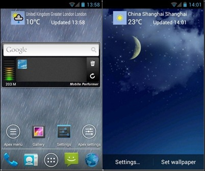 Sky-Weather-LWP-Android