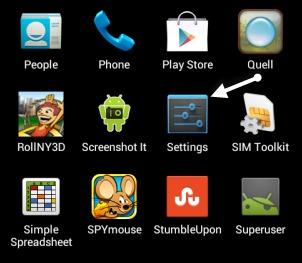 Android iestatījumi