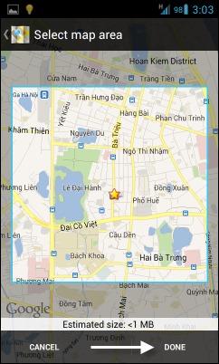 Waze Offline Térkép