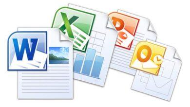 صورة لكيفية فتح ملفات Office Word و Excel و PowerPoint وتحريرها (doc و docx و ppt و xls و xlsx و pptx و pdf) على هواتف Android.