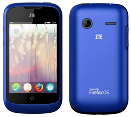 ZTE Open a new smartphone that runs Firefox OS is launched ...