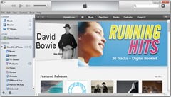 11 visar sidofältet i iTunes