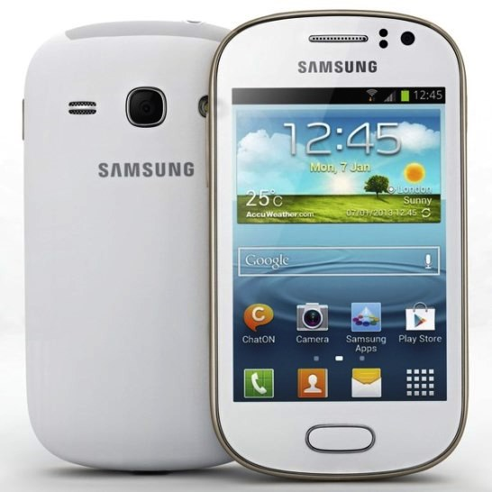 Samsung Galaxy Young S6310 a smartphone outlet accessible to young