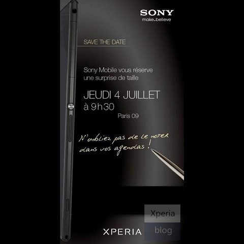 "Sony Xperia Z Ultra ""Togari"" Will Be Released This July"