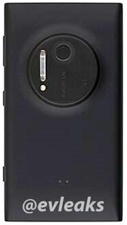 Nokia 1020 back