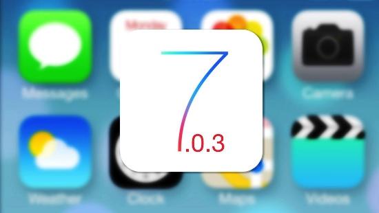 IOS7.0.3