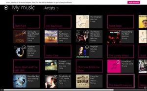 NokiaMixRadioScreenshot