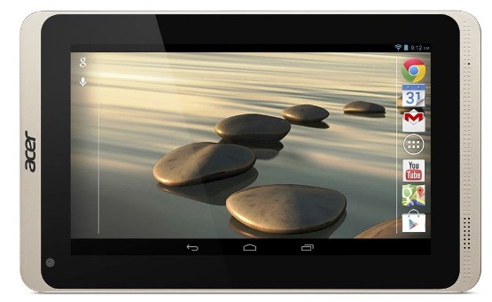 Acer Iconia B1-720/721, the newest tablets in the series, accessible performance