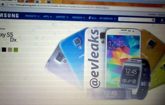 Samsung Galaxy S5 mini va fi lansat sub numele de Galaxy S5 Dx