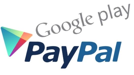Google Play-PayPal