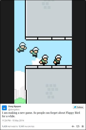 Developer-ul Flappy Bird a anuntat lansarea unui nou joc