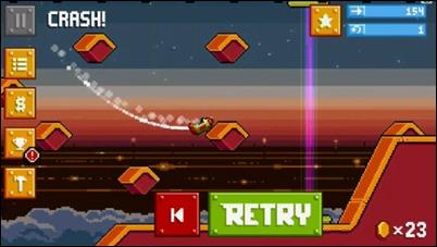 Rovio a lansat RETRY, un joc nou asemanator cu Flappy Bird