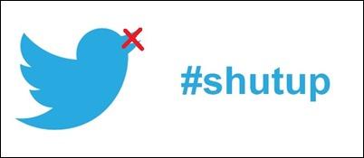 Twitter introduce optiunea mute