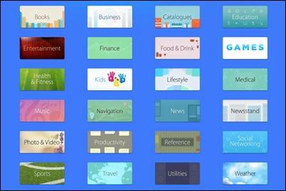 App-Store-catégories