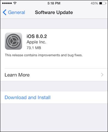 iOS 8.0.2的
