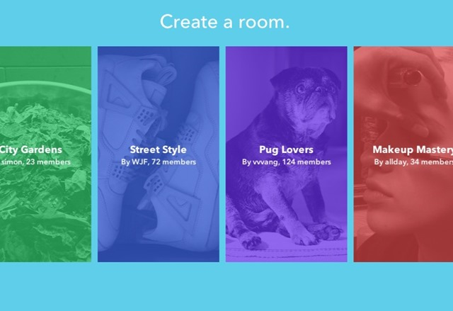Facebook has launched Rooms, a mobile application that facilitates