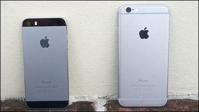 iPhone 6-vs-iphone-5s