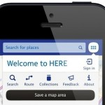 Nokia Maps Here lies, in force on iOS