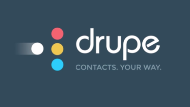Photo of Drupe, a new free application for Android