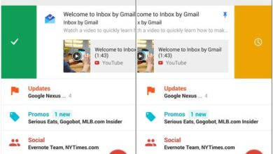 Foto af Inbox af Gmail, en gratis applikation til Google og Android Apple iOS