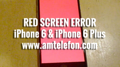 Photo of iPhone 6 & iPhone 6 Plus / Red Screen Problem