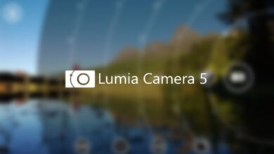 Foto de Lumia Camera 5 Actualización de software / Fijar grabación de video