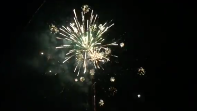 Fotografie z iPhone 6 / Fireworks v Slow Motion 240 fps [Test Video Camera]