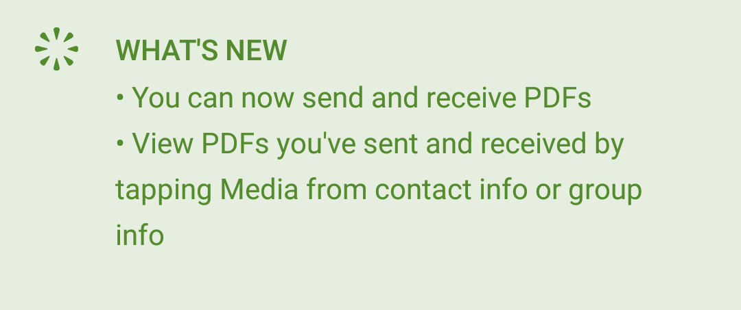 WhatsApp PDF