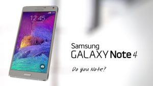 Samsung Galaxy Note-4 6.0.1-Android