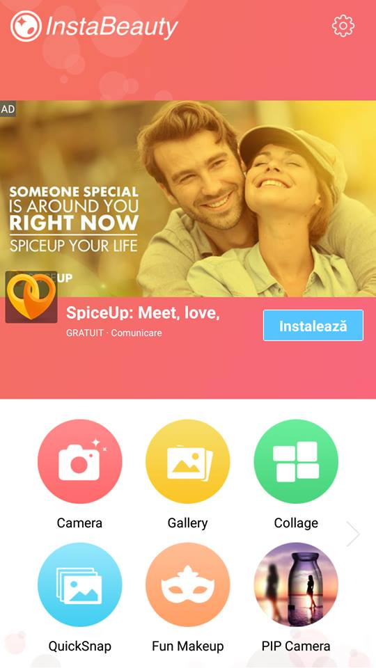 InstaBeauty Selfie Camera, an application dedicated to