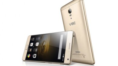 Photo of the new Lenovo Vibe C, a smartphone created for an ideal back-up
