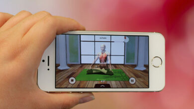 Photo de Saagara AR, une application gratuite qui nous enseigne le yoga