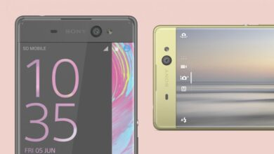 Photo of Xperia XA Ultra, a Sony smartphone with a giant photo sensor
