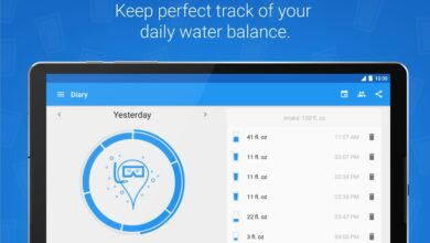 Photo of Hydro Coach-drink water, a free Android application that helps us hydrate our body