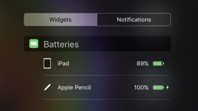 Photo of How we check the battery charge level Apple Pencil or Bluetooth Handsfree on iPad / iPhone