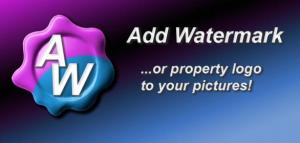Add-Watermark app