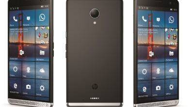 Photo of HP Elite x3, a smartphone equipped with Windows 10