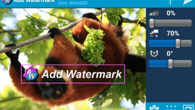 Photo of Add Watermark Free, a free application that protects your copyright on photos