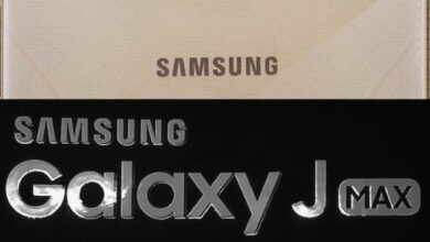 Foto di Samsung Galaxy J MAX, un tablet smartphone con display 7 ″